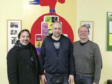 Clemens Hunte, Sascha Orrisch, Steffen Schaller